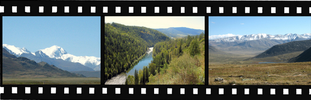 Images of Golden Mountains of Altai World Heritage Site in Russian Federation