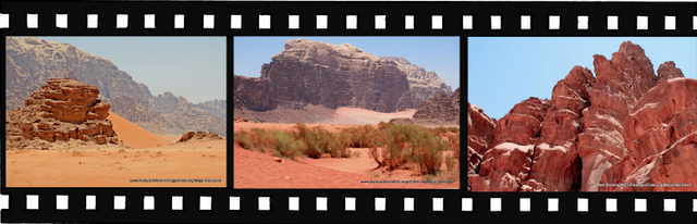Images of Wadi Rum Protected Area World Heritage Site in Jordan