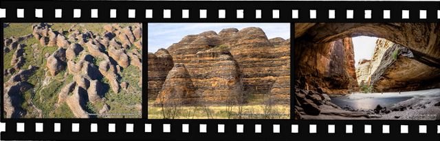 Images of Purnululu National Park World Heritage Site in Australia